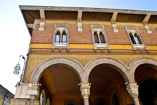 mercato granario, mantova, italia. Mercato granario, Mantua, Italy : Stock Photo