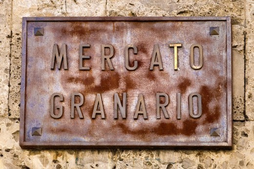 mercato granario, mantova, italia. Mercato granario, Mantua, Italy : Stock Photo