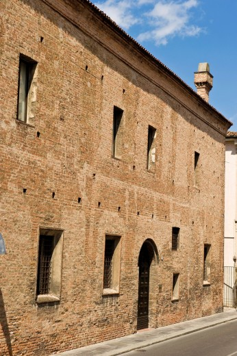 casa del mantegna, mantova, italia. Mantegna´s house, Mantua, Italy : Stock Photo