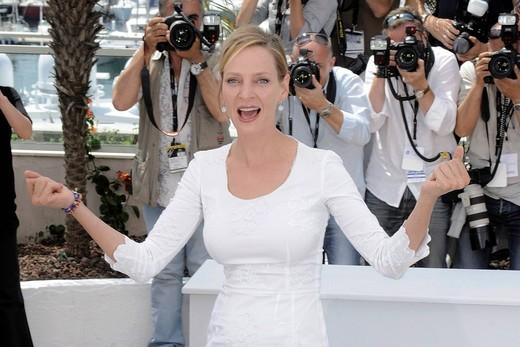 uma thurman, 64° Festival di Cannes, : Stock Photo