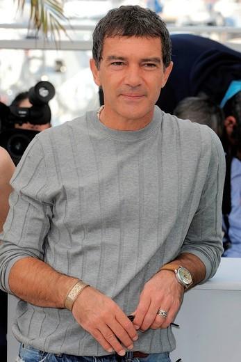 Stock Photo: 3153-836355 antonio banderas, 64° Festival di Cannes