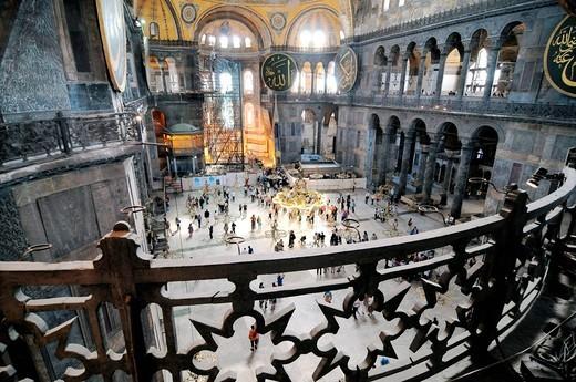 hagia sophia, basilica di santa sofia, istanbul, turchia. hagia sophia, istanbul, turkey : Stock Photo