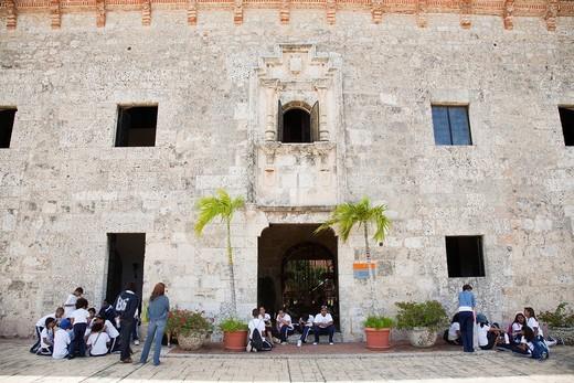 museo de las casas reales, santo domingo, hispaniola, repubblica dominicana, caraibi. museo de las casas reales, santo domingo, hispaniola, dominican republic, caribbean : Stock Photo