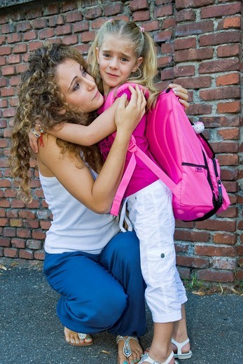 Stock Photo: 3153-841014 primo giorno di scuola. first day of school