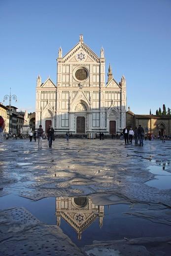 Stock Photo: 3153-841072 santa croce, firenze, toscana, italia. santa croce, florence, tuscany, italy, europe