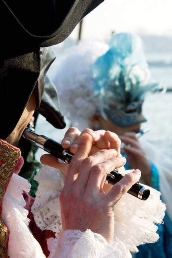 Stock Photo: 3153-841126 carnevale di venezia, veneto italia. carnival, venice, italy