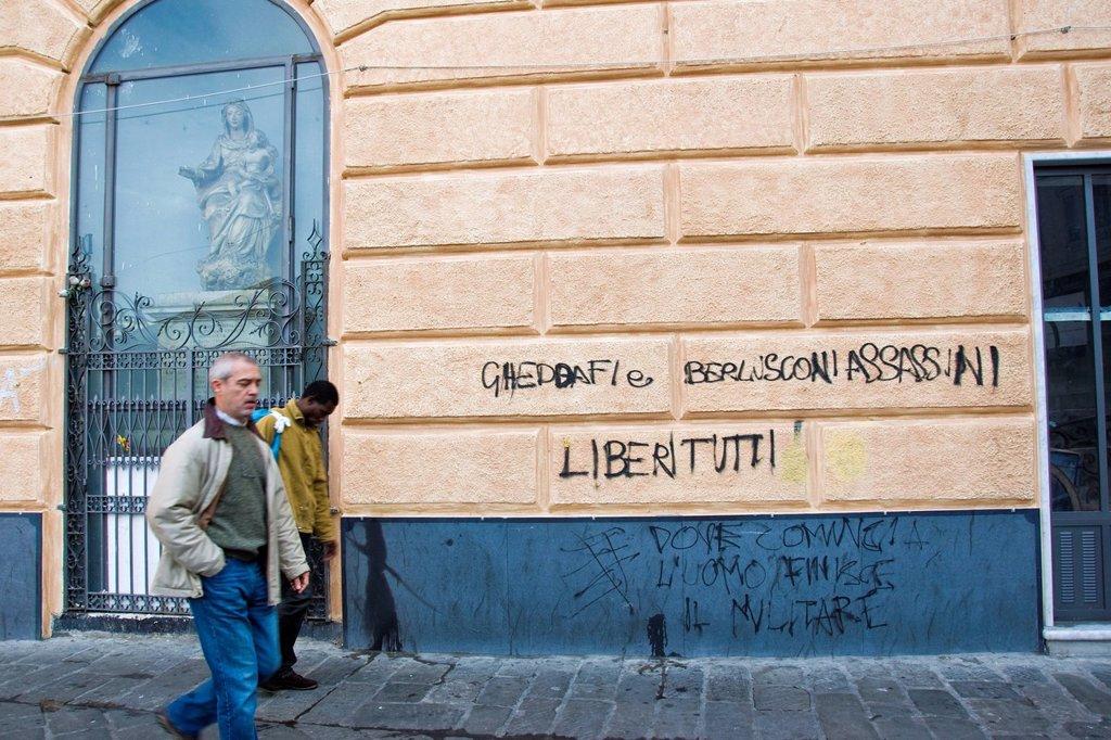 Stock Photo: 3153-841964 Via di PrË, Genoa, Liguria, Italy. Via di PrË, Genoa, Liguria, Italy