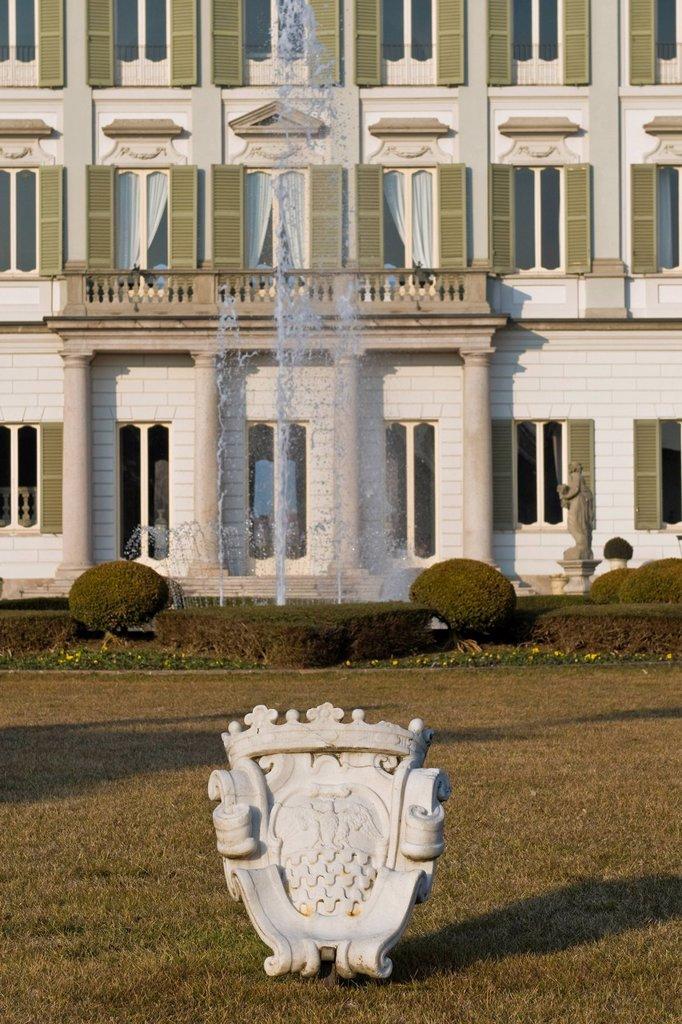 Stock Photo: 3153-843273 Villa Borromeo, Cassano d´Adda, Lombardy, Italy. Villa Borromeo, Cassano d´Adda, Lombardy, Italy
