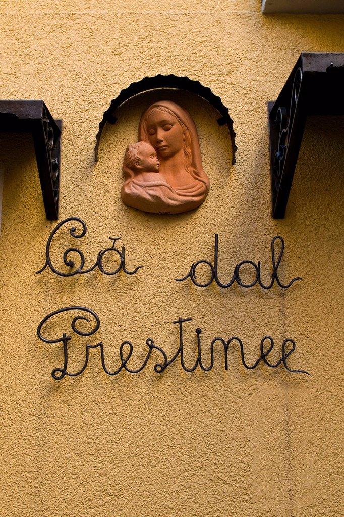 Stock Photo: 3153-843377 Ca del Prestinee, Campione d´Italia, Italy. Ca del Prestinee, Campione d´Italia, Italy