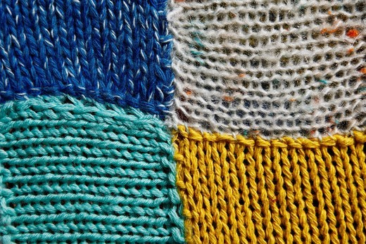 Stock Photo: 3153-844153 coperta di lana, particolare. wool blanket, details
