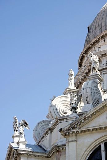 santa maria della salute la salute, venezia, veneto, italia. la salute basilica, venezia venice, unesco, italy : Stock Photo
