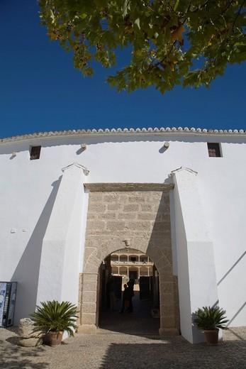 Stock Photo: 3153-845996 arena, ronda, andalusia, spagna. bullfighting arena, ronda, andalucia, spain