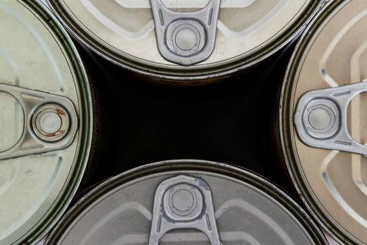 lattine. cans : Stock Photo