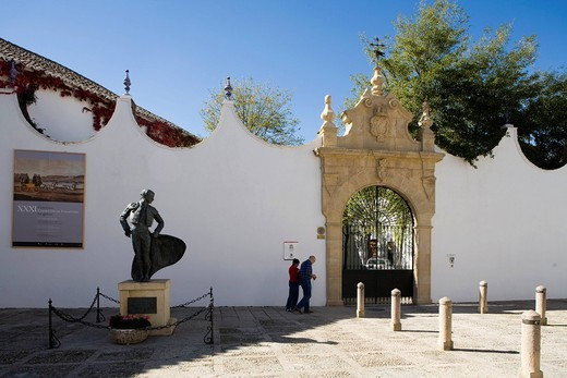 arena, ronda, andalusia, spagna. bullfighting arena, ronda, andalucia, spain : Stock Photo