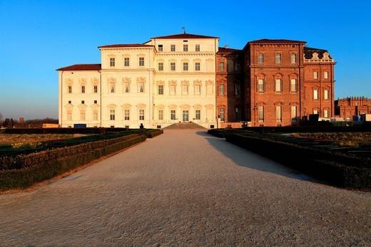 reggia di venaria reale, piemonte, italia. palace of venaria, venaria reale, piedmont, italy : Stock Photo