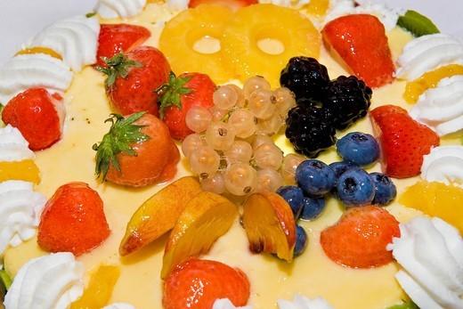 Stock Photo: 3153-849141 Cakes, Anna and Mario, 50 th wedding anniversary, Cuggiono, Italy. Cakes, Anna and Mario, 50 th wedding anniversary, Cuggiono, Italy