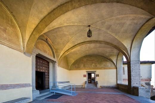 Stock Photo: 3153-849401 Convento dell´Annunciata, Convent of the Announced, Rovato, Franciacorta, Lombardy, Italy. Convento dell´Annunciata, Convent of the Announced, Rovato, Franciacorta, Lombardy, Italy