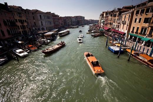 canal grande, venezia, italia : Stock Photo