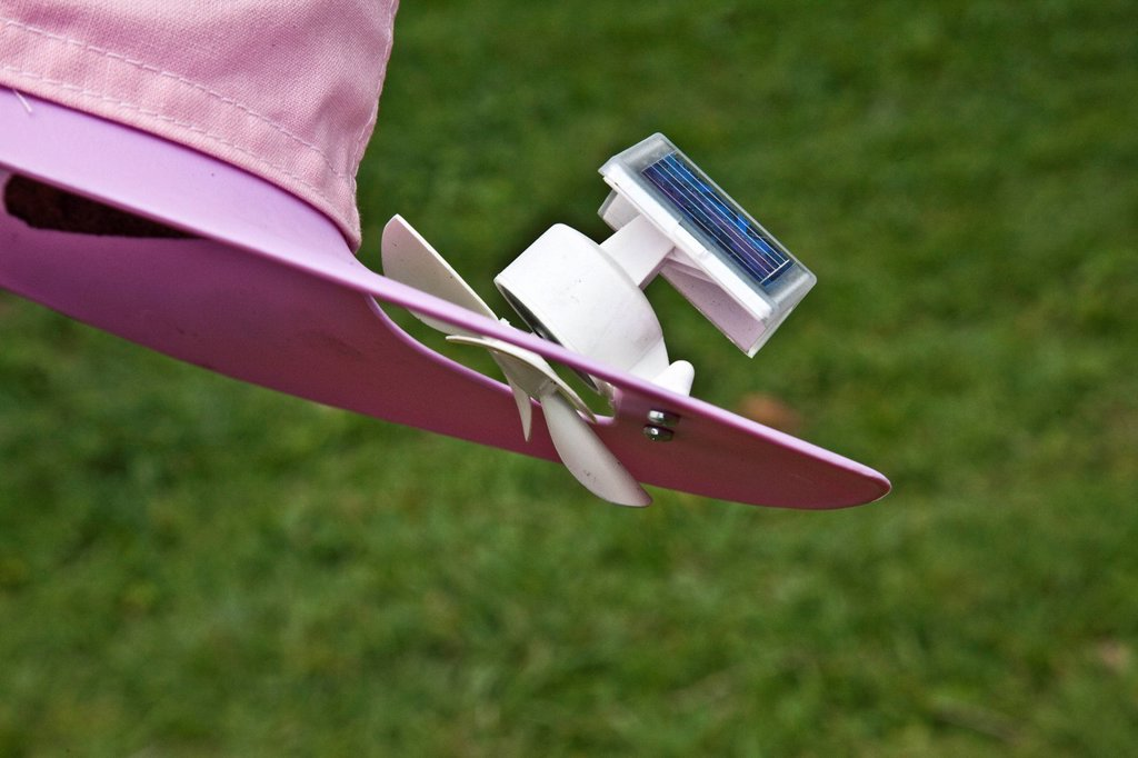 Ventilatore Con Pannello Solare : Cappello con ventilatore ad energia solare hat with solar