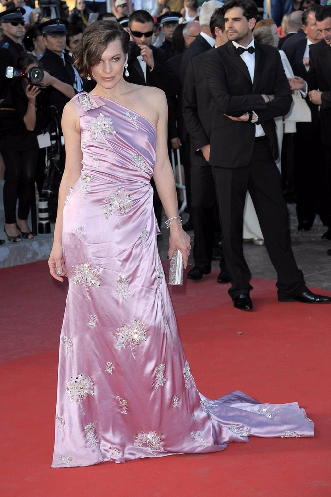 Stock Photo: 3153-852641 milla jovovich, 65° Festival di Cannes
