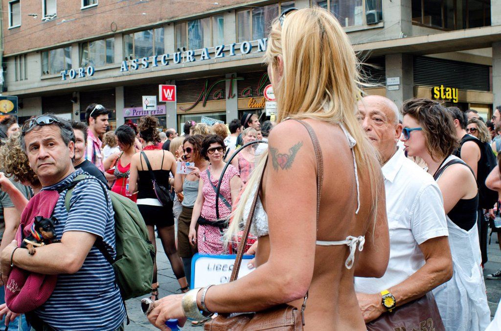 Stock Photo: 3153-856123 bologna pride, gay pride, bologna, 9_6_2012