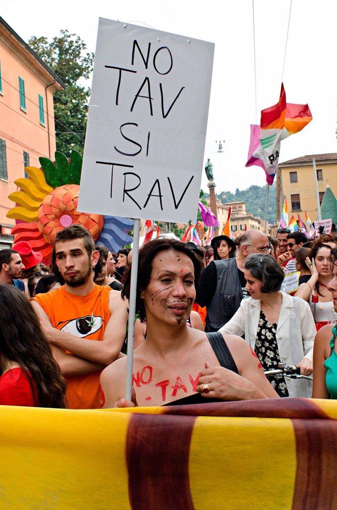 Stock Photo: 3153-856264 bologna pride, gay pride, bologna, 9_6_2012