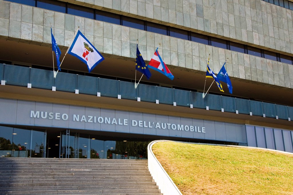 italia, piemonte, torino, museo nazionale dell´automobile. Italy, Piedmont, Turin, Museo Nazionale dell´automobile, National Automobile Museum : Stock Photo