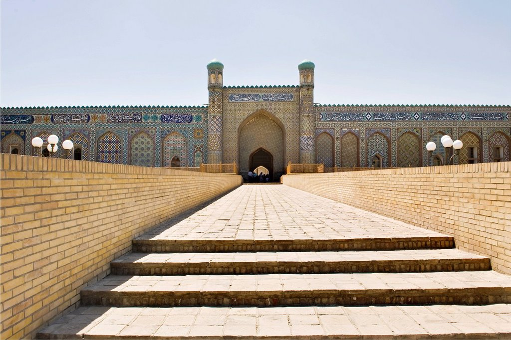 Stock Photo: 3153-856915 Uzbekistan, Kokand, Khudayarkhans palace. Uzbekistan, Kokand, Khudayarkhans palace