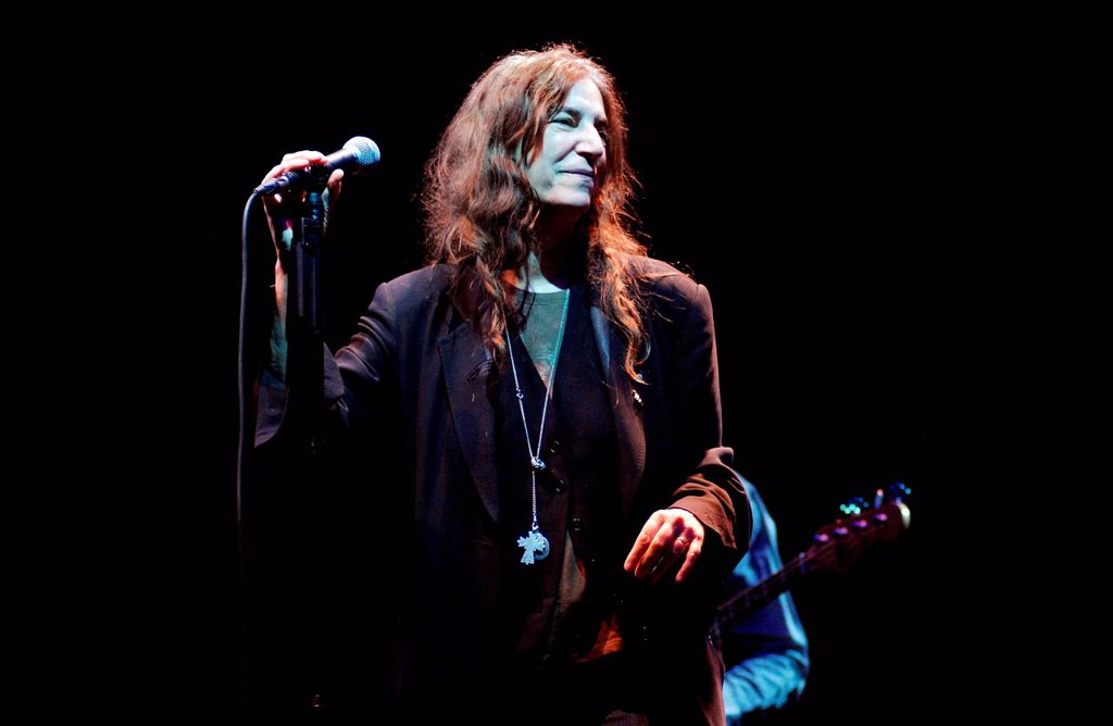 Stock Photo: 3153-857188 patti smith