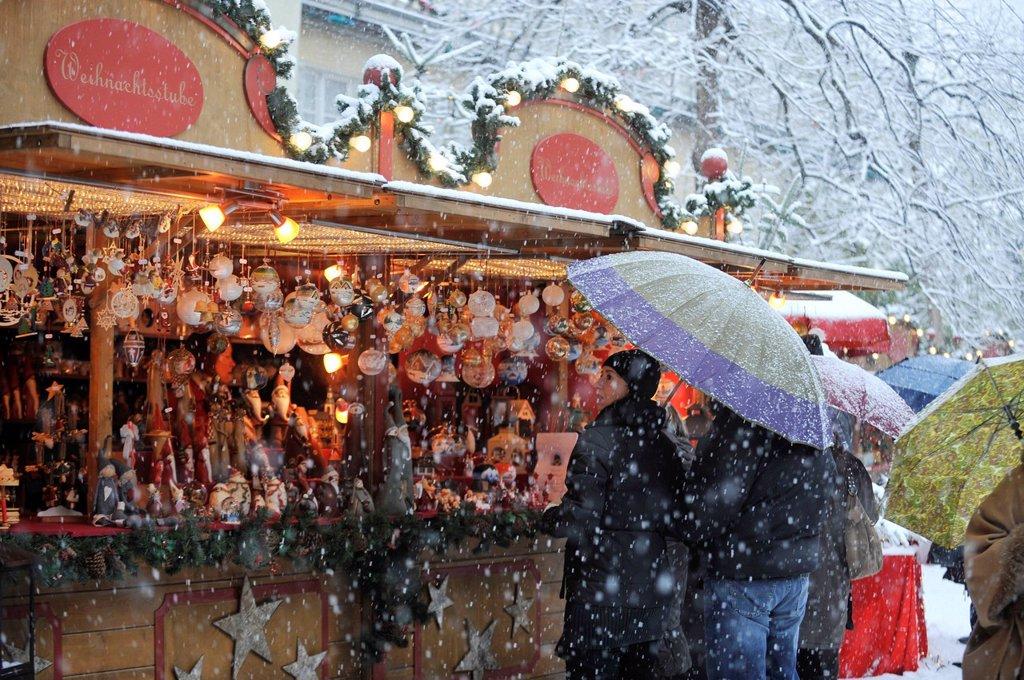 mercatino di natale, bolzano, alto adige. Christmas Market, Bolzano, South Tyrol : Stock Photo