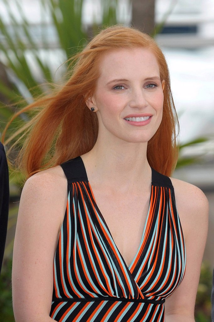 Stock Photo: 3153-859100 jessica chastain, 65° Festival di Cannes