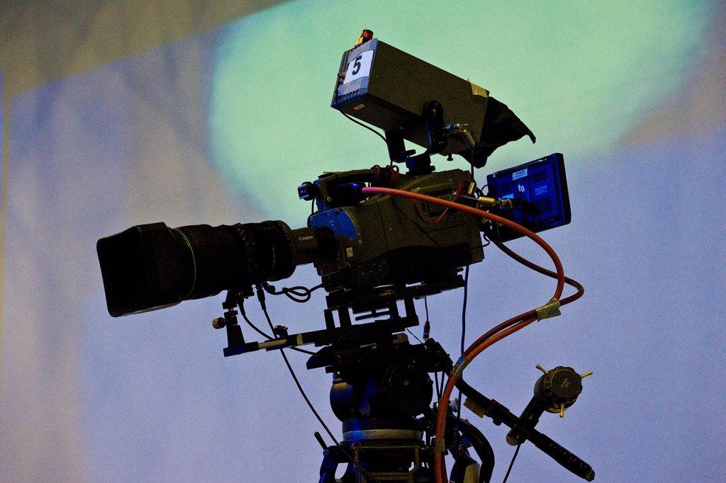 Stock Photo: 3153-859277 Italian television. Italian television