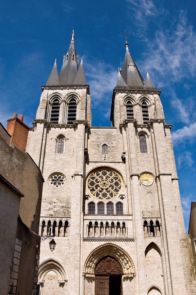 Stock Photo: 3153-863748 cattedrale, blois, valle della loira, francia. cathedral, blois, loire valley, france