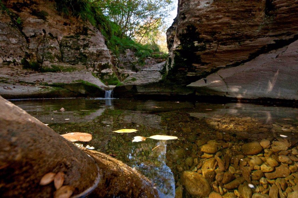 Stock Photo: 3153-864571 rio maggiore, cornolade, forre e marmitte, canyon, veneto