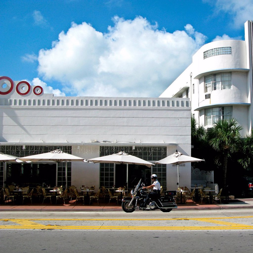 Stock Photo: 3153-864818 art deco district, miami beach, florida, usa
