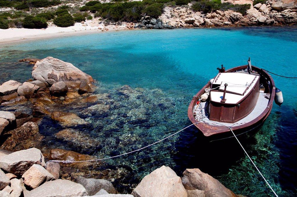 cala corsara, la maddalena, sardegna, italia. Cala Corsara, La Maddalena, Sardinia, Italy : Stock Photo