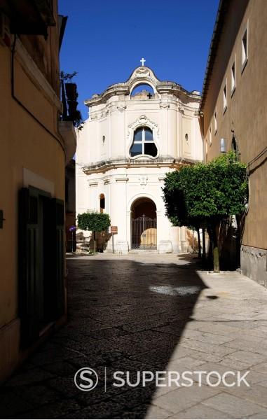 Stock Photo: 3153-867363 chiesa e monastero di s.maria di costantinopoli, sant´agata dei goti, italia. church and monastery of santa maria of constantinople, sant´agata dei goti, Italy