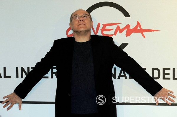 Stock Photo: 3153-870027 carlo verdone, festival internazionale del film di roma. carlo verdone, international film festival of rome
