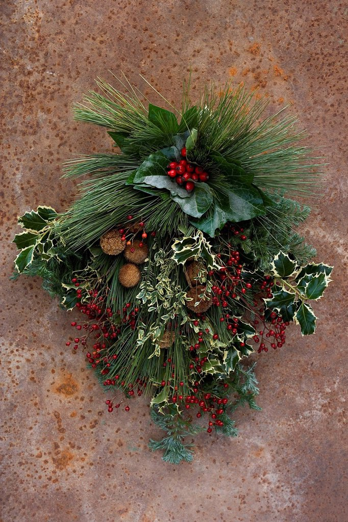 Stock Photo: 3153-870086 natale in terrazzo. christmas on the terrace