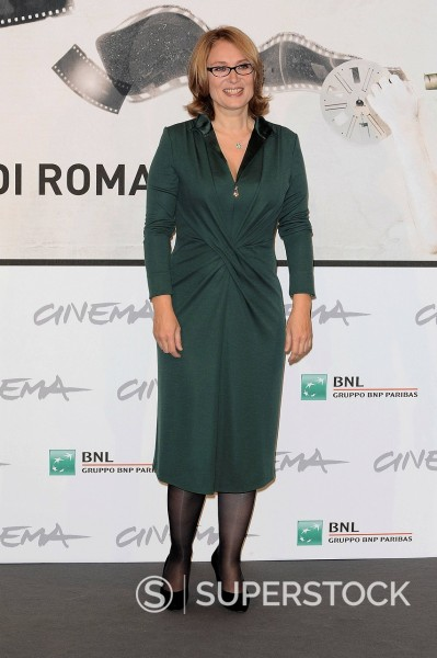Stock Photo: 3153-870297 nicoletta mantovani, festival internazionale del film di roma. nicoletta mantovani, international film festival of rome