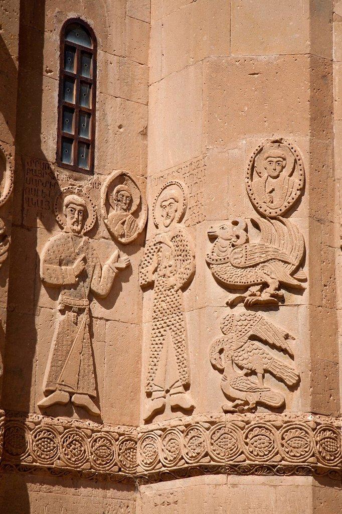 Stock Photo: 3153-878895 chiesa armena della santa croce, isola di akdamar, anatolia, turchia