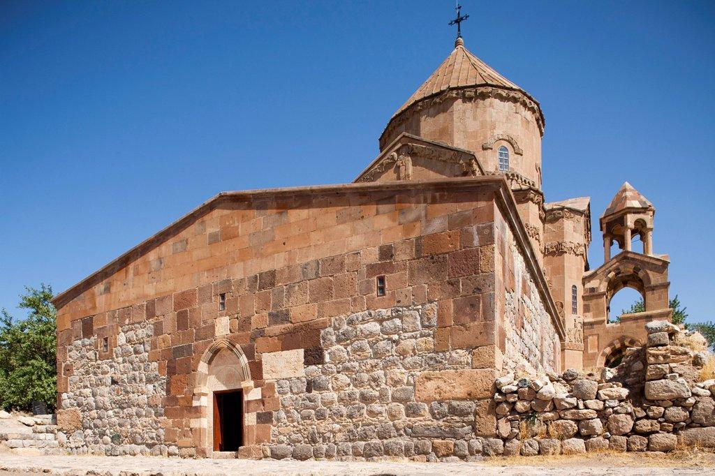 Stock Photo: 3153-878902 chiesa armena della santa croce, isola di akdamar, anatolia, turchia