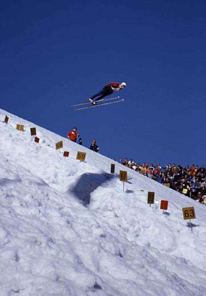 Holmenkollen Ski Jump Oslo Norway : Stock Photo