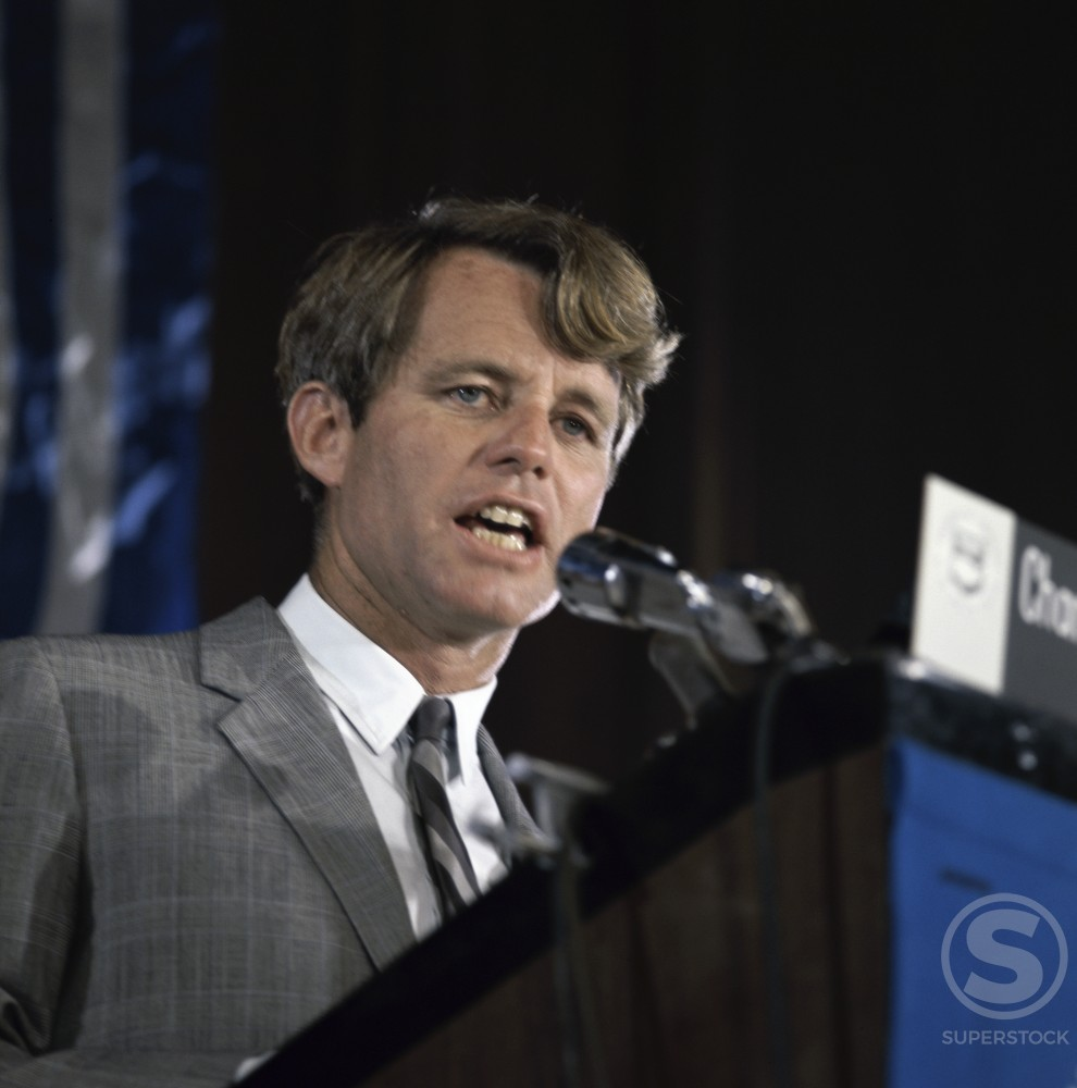 Stock Photo: 3284-407298 Robert F. Kennedy, (1925-1968), American Statesman