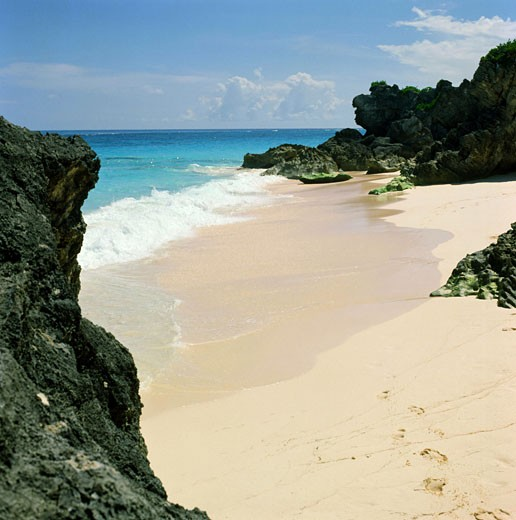 Stock Photo: 3800-101 Natural Arches Beach