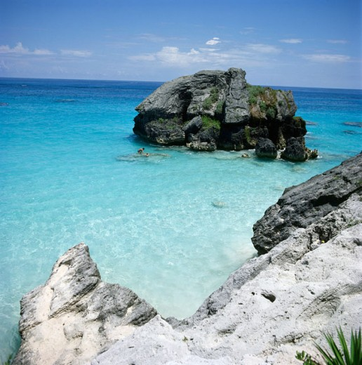 Stock Photo: 3800-154 Horseshoe Bay Beach