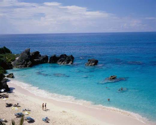 Stock Photo: 3800-164 The Reefs Beach