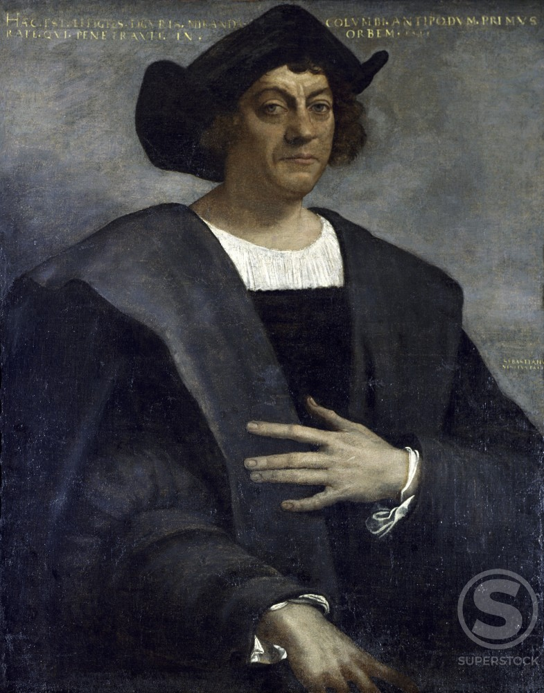 Stock Photo: 3800-444007 Christopher Columbus 