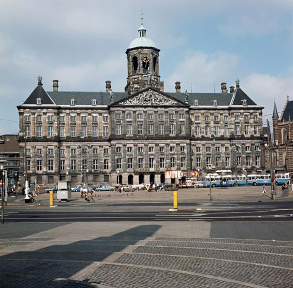 Netherlands, Amsterdam, Royal Palace : Stock Photo