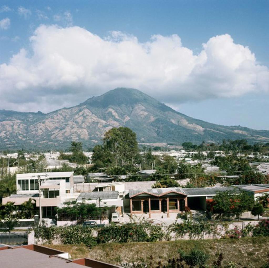 San Salvador Volcano San Salvador El Salvador : Stock Photo